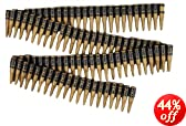 Military Bullet Belt : Plastic Toy Bandoleer Army Costume Accessory