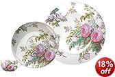Creative Tops V&A Brompton Rose Fine China Afternoon Tea Set, Multi-Colour