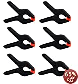 Heavy Duty Muslin Clamps 4 1/2 inch 6 Pack