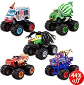 Disney Deluxe Monster Truck Mater Figure Set -- 5-Pc.