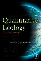 Quantitative Ecology: Measurement, Models…