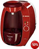 Bosch TAS2005 Tassimo T20 Multi-Getr�nke-Automat / Indian Summer Red