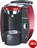 Bosch TAS4213 Tassimo T42 Multi-Getrnke-Automat / Glamour Red