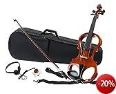 Classic Cantabile EV-81 E-Violine Komplettset Inkl. Kopfhörer