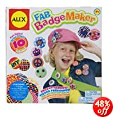 ALEX� Toys - Craft Fab Badge Maker 762