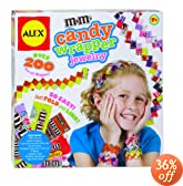 ALEX� Toys - Craft M&M'S Candy Wrapper Jewelry 759W