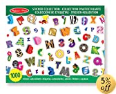 Melissa & Doug Sticker Collection - Alphabet and Numbers