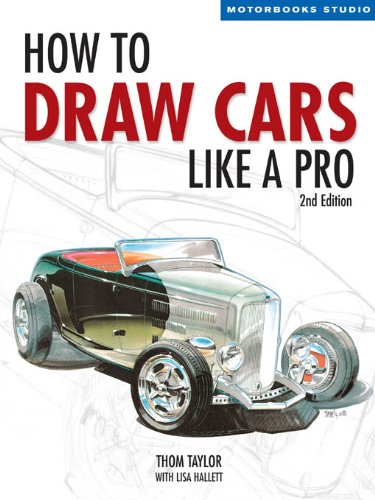 how-to-draw-cars-like-a-pro-2nd-edition-motorbooks-studio