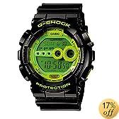 G-Shock High Brightness LED Green Dial Men's watch #GD100SC-1