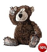 sigikid, Kuscheltier für Erwachsene u. Kinder, Bär, Bonsai Bear, BEASTS, Braun, 37738128