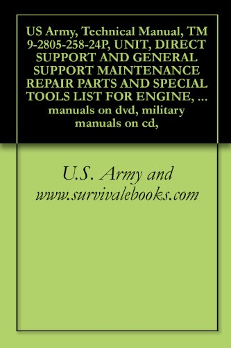 us-army-technical-manual-tm-9-2805-258-24p-unit-direct-support-and-general-support-maintenance-repair-parts-and-special-tools-list-for-engine-gasoline-manuals-on-dvd-military-manuals-on-cd