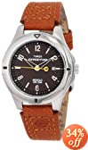 Timex Women's T49856 Expedition Field Burnt Sienna Leather Strap Watch