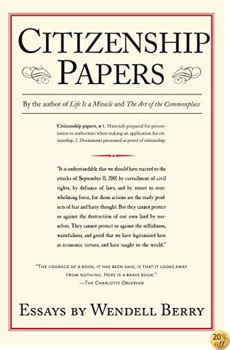 Citizenship Papers: Essays