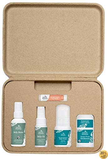 Earth Mama A Little Something For Mama-To-Be Organic Pregnancy Gift Set, 5...