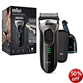 Braun Series 3 390cc-4 Electric Shaver with Cleaning Centre