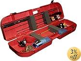 MTM Ice Fishing Rod Box (Red)