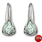 Swarovski Damen-Ohrhänger Lunar Isap Kristall 925 Sterlingsilber 1035229