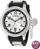 Invicta Men's 1435 Russian Diver Silver Dial Rubber Watch