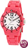 Invicta Women's 1209 Angel White Dial Pink Plastic Watch
