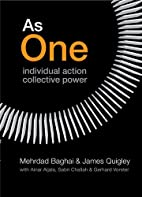 As One: Individual Action, Collective Power…