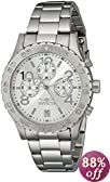 Invicta Men's 1278 II Collection Chronograph Silver Dial Stainless Steel Watch