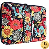 Vera Bradley 17-Inch Happy Snails Laptop Sleeve