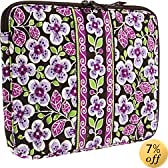 Vera Bradley Laptop Sleeve in Plum Petals