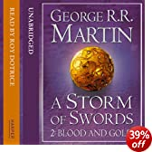 A Storm of Swords (Part Two) - Blood and Gold: Book 3 of A Song of Ice and Fire (Unabridged)