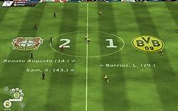 Fußball Manager 12: Ergebsnisanzeige im 3D Spiel