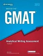 Master the GMAT: GMAT Analytical Writing…