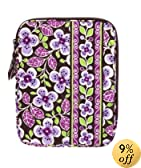 Vera Bradley Tablet Sleeve in Plum Petals
