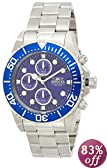 Invicta Men's 1769 Pro Diver Collection Stainless Steel Blue Dial Watch