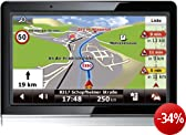Falk Neo 450 (10,9cm (4,3 Zoll) Display, Europa 44, TMC Pro Starter, Bluetooth Pro, Sprachsteuerung, 3D Gelände, 3D Gebäude, Echt-Sicht Pro, Routenticker, TTS)