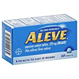 Select Aleve Products, $5.99