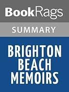Brighton Beach Memoirs by Neil Simon |…