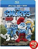 The Smurfs (Two-Disc Combo: Blu-ray 3D / Blu-ray / DVD + UltraViolet Digital Copy)