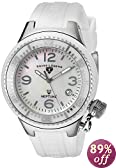 Swiss Legend Women's SL-11844-WWSA Neptune White Mother of Pearl Silicone Watch
