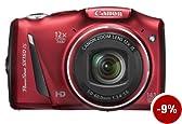 Canon Powershot SX150 IS Fotocamera Digitale 14.1 Megapixel, colore: Rosso