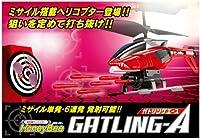 ミサイル搭載のヘリコプターが登場!!