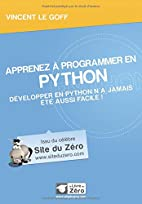 Apprenez à programmer en Python by…