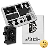 Genuine Fotodiox DIY Lomo Camera, Twin Lens Reflex, TLR Camera Kit (68 Pieces, with Detailed Instructions, Uses 35mm 24 Exposure B&W or Color Film)