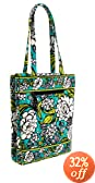 Vera Bradley Laptop Travel Tote (Island Blooms)