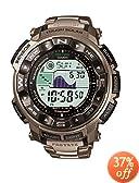 Casio Men's Pathfinder Casual Watch PRW2500T-7CR, Titanium