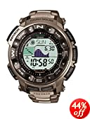Casio Men's Pathfinder Casual Watch PRW2500T-7CR, Titanium