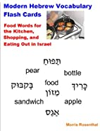 Modern Hebrew Vocabulary Flash Cards - Food…