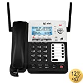 AT&T SynJ SB67158 DECT 6.0 4-Line Corded/Cordless Small Business Phone System with Answering System