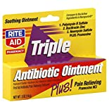 Rite Aid Brand Triple Antibiotic Cream or Ointment 0.5 oz. Hydrocortisone or Anti-Itch Cream or Ointment, $3.99