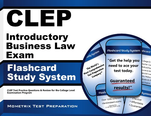 clep-introductory-business-law-exam-flashcard-study-system-clep-test-practice-questions-review-for-the-college-level-examination-program