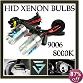 HOT SYSTEM™ Headlight 9006-8000K HID Xenon Bulbs Lights Lamps