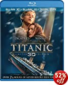 Titanic (Four-Disc Combo: Blu-ray 3D / Blu-ray / Digital Copy)